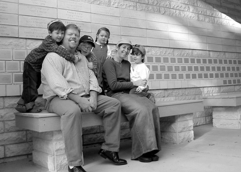 Ott Family Courtyard Bench Dedication